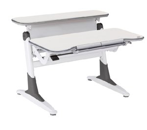 Растущая парта Comf-Pro Ergo-desk TH-330 Дуб беленый Серый