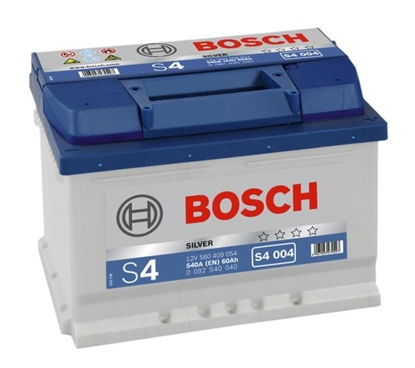 Аккумулятор BOSCH S4 004 Silver 560 409 054 обратная полярность 60 Ач