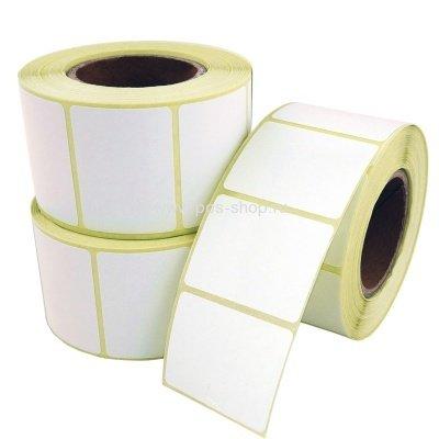Этикетки 43х25 мм (полуглянцевая бумага) (4000 эт. в рол., вт.76)