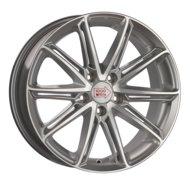1000 Miglia MM1007 7.5x17 5x114.3 ET 40 Dia 67.1 (Silver Gloss Polished) - фото 1