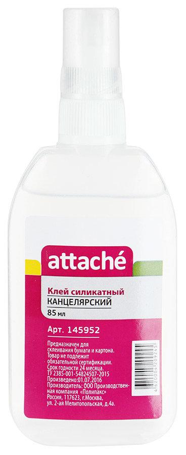 Клей Attache силикатный, 85мл