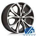 Диски Alutec W10 9x20 5/127 ET52 d71.6 Racing Black Front Polish - фото 1