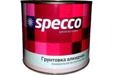 Грунтовка SPECCO ГФ-021 красно-коричневая 1кг