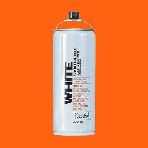 Краски для граффити L&G Vertriebs Краска для граффити MONTANA WHITE №2070 оранжевый кампари, аэрозоль 400мл