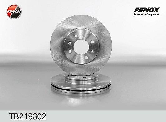 Тормозной диск (передний) Fenox на Хендай Солярис / Киа Рио 3 ZITB219302