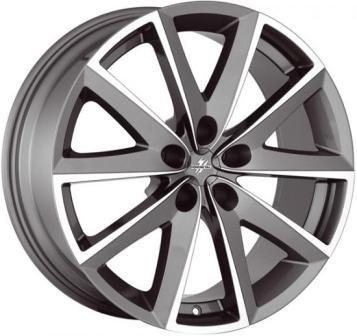 литой колесные диски Fondmetal 7600 8x19 ET38 PCD5*114.3 (Титан полировынный) DIA 67.1