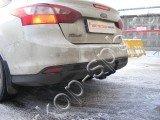 Фаркоп Трейлер для Ford Foсus 3 (Седан) 2011-