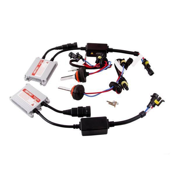 Автолампа ксенон H11 12V 35W 5000K SKYWAY комплект 2 шт + провод+блок розжига ближний свет
