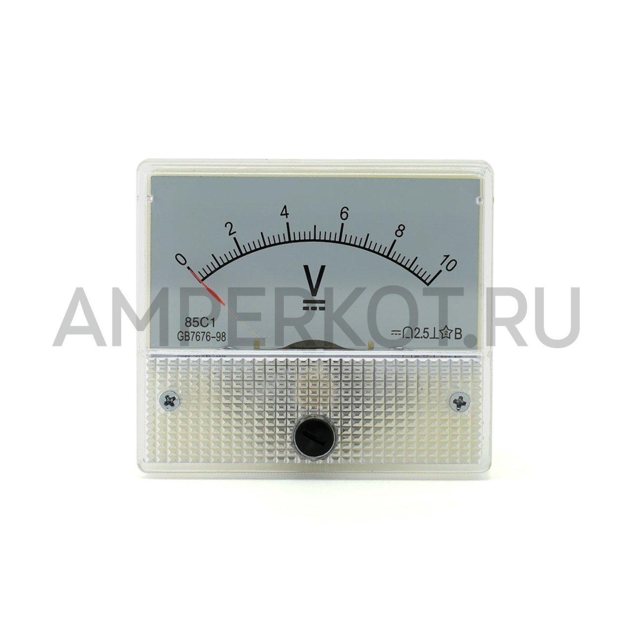 Аналоговый вольтметр 85C1 10V