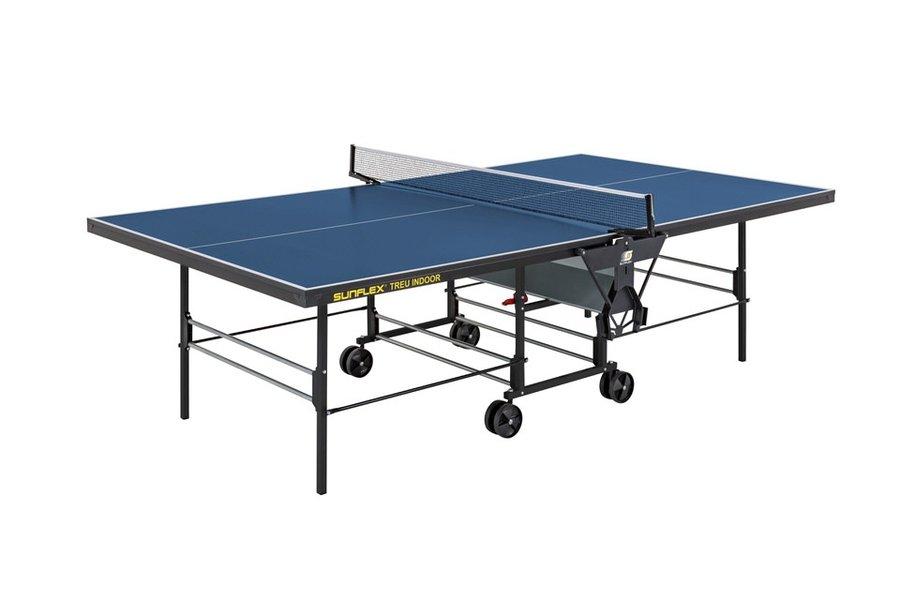 Теннисный стол Sunflex Treu Indoor - синий