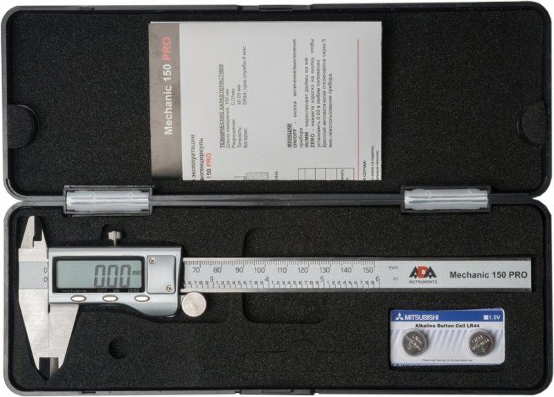 Штангенциркуль цифровой ADA Mechanic 150 PRO