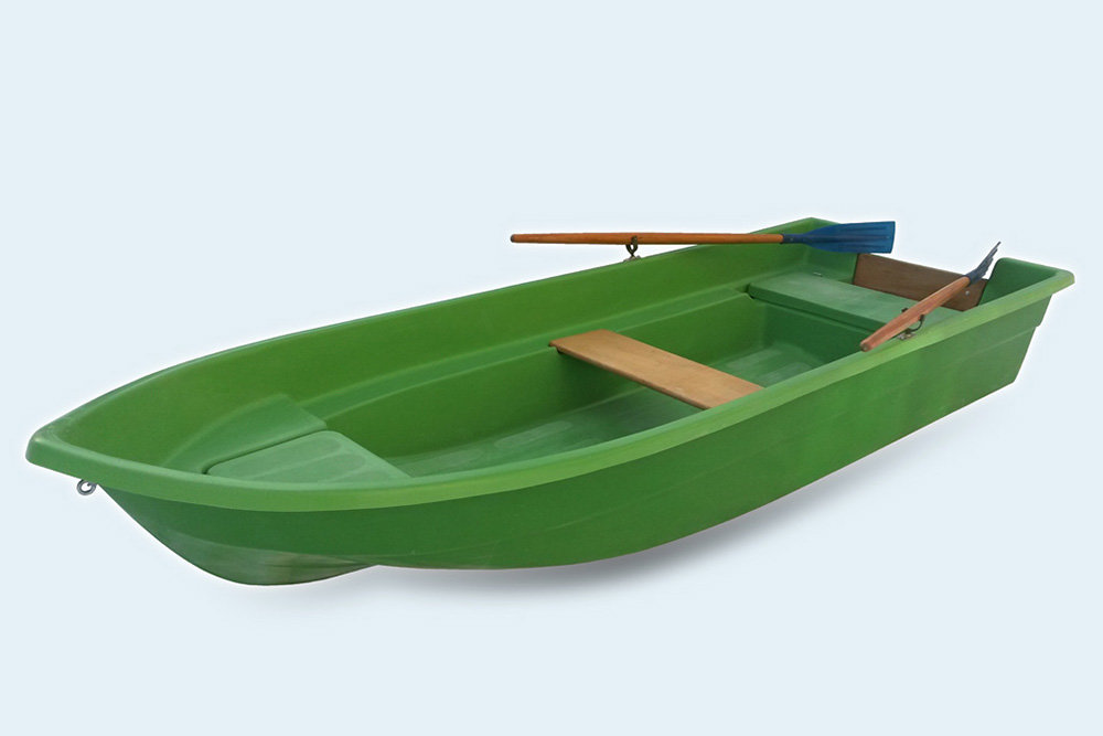 Лодка Виза-яхт Легант-345 Моторка (подуключины+весла в комплекте)