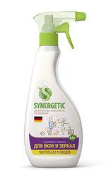 """Средство для мытья окон, зеркал и бытовой техники биоразлагаемое """"Synergetic"""", 500 мл (триггер)"""