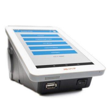 POS-система Эвотор Алко ФН (cмарт-терминал 54-ФЗ, фискальный накопитель, Android, ПО Evotor POS, 2D сканер штрих-кода)