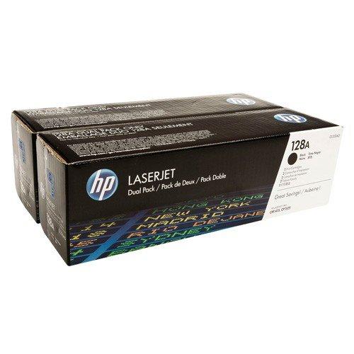 CE320AD (128A) оригинальный картридж HP для принтера HP Color LaserJet Pro CP1525N/ CP1525NW/ CM1415 mfp black, двойная упаковска 2*2000 страниц