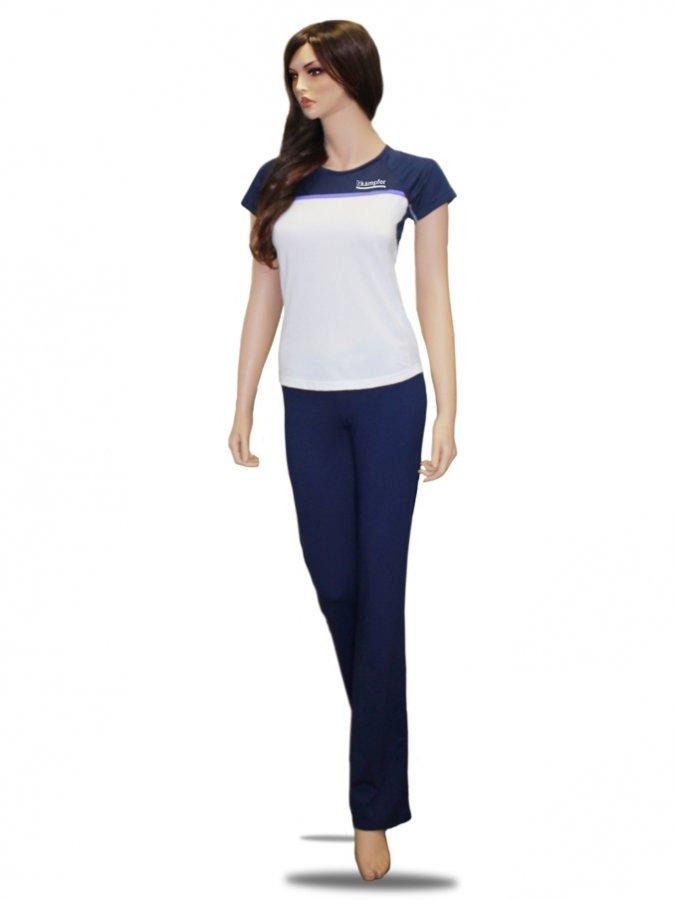 Комплект женской одежды для фитнеса Kampfer Dark blue (XS)
