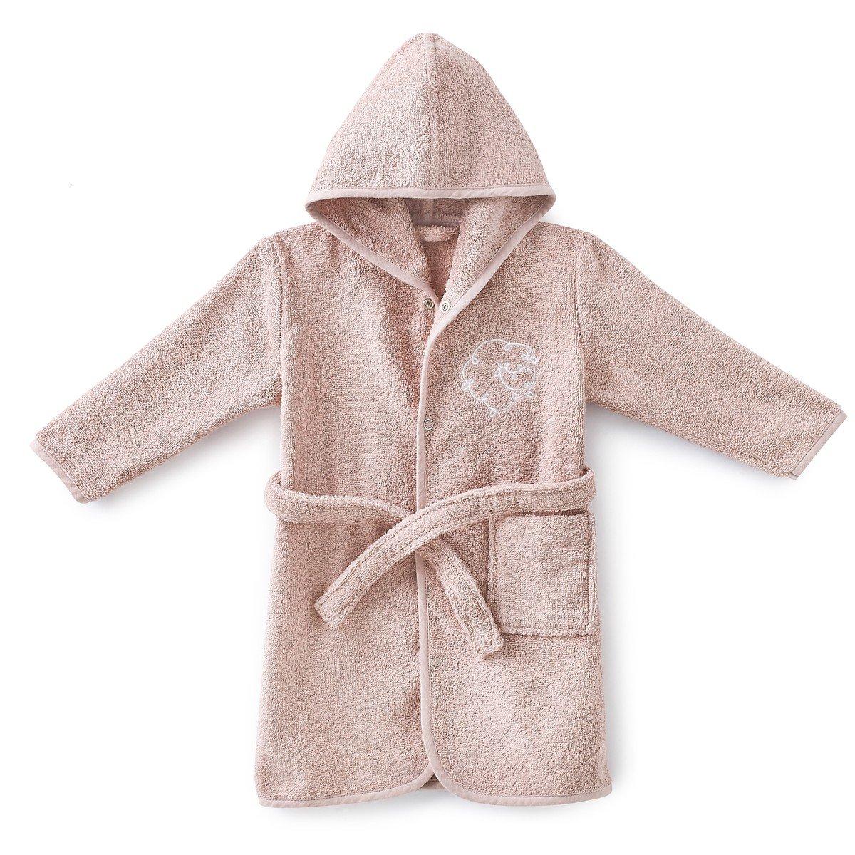 Халат La Redoute Детский махровый LITTLE SHEEP 4 года - 102 см розовый