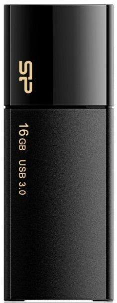 USB Flash накопитель 16Gb Silicon Power Blaze B05 Black (SP016GBUF3B05V1K)