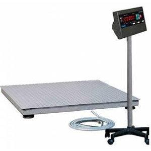 Промышленные электронные платформенные весы с 4 датчиками CAS 1СКП-1010(СКИ-12)