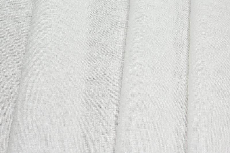 Ткань льняная 260см цвет белый