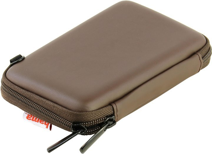 Чехол для 2.5″ винчестеров 00095524 Hama E.V.A. HDD Case, 2.5″, brown