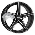 Литые диски Alutec 8x18/5x120 ET34 D72,6 Raptr Racing black front polished - фото 1