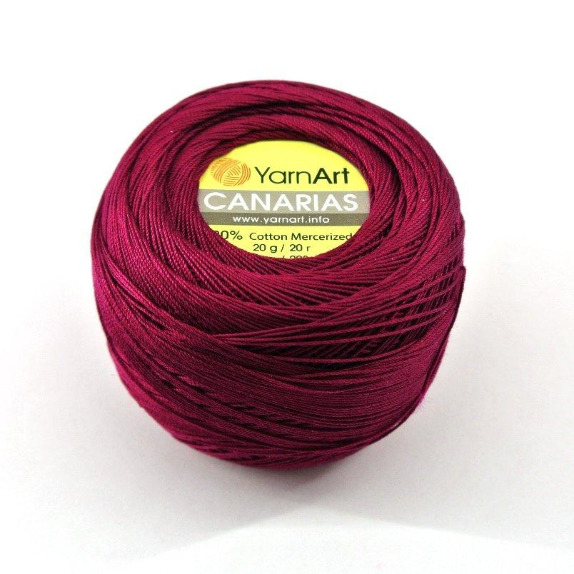 Пряжа Yarn Art Canarias №0112 (бордо)
