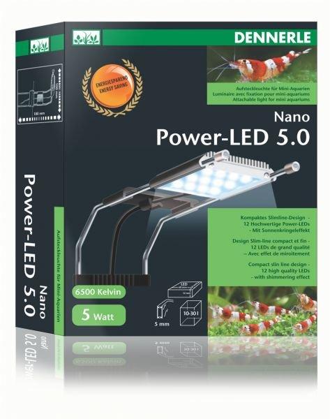 Комплект из двух светильник DENNERLE Nano Power LED для нано-аквариумов 10-30 л, 5 Вт