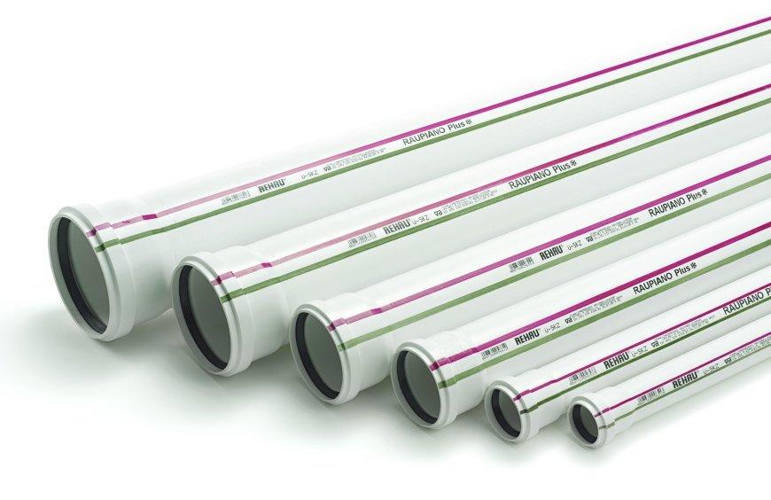 Rehau Труба для систем внутренней канализации 50/250 мм
