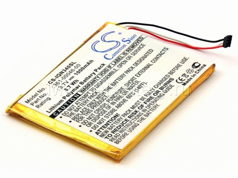 Аккумулятор для GPS-навигатора Garmin Nuvi 3450LT, 3490LT, 3590