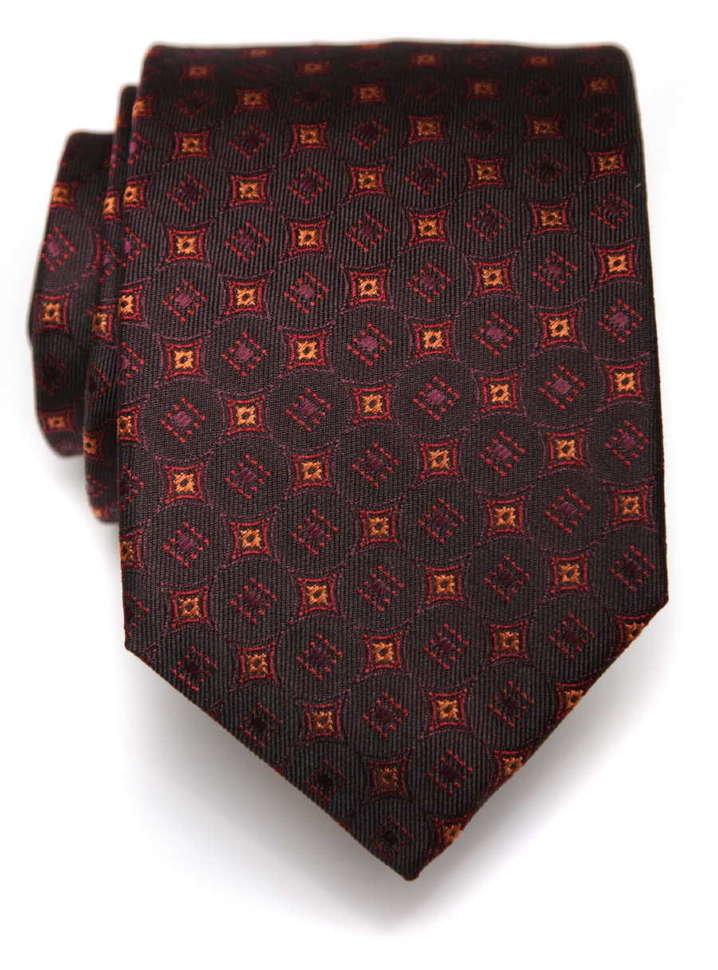 Стильный мужской галстук в ромбик ClubSeta 8056