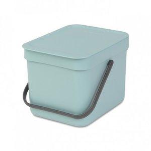 """Ведро для мусора Brabantia """"SORT&GO"""", 6 литров, арт. 109645"""