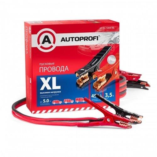 Провода пусковые AUTOPROFI высокие нагрузки, 100% ССА, 3,5м