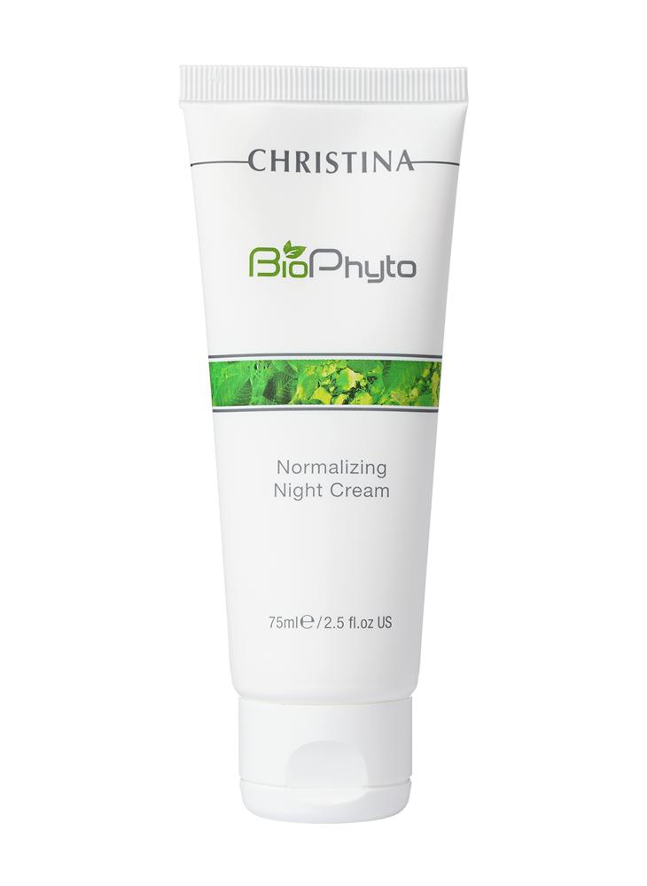 Нормализующий ночной крем Christina Bio Phyto Normalizing Night Cream 75 мл
