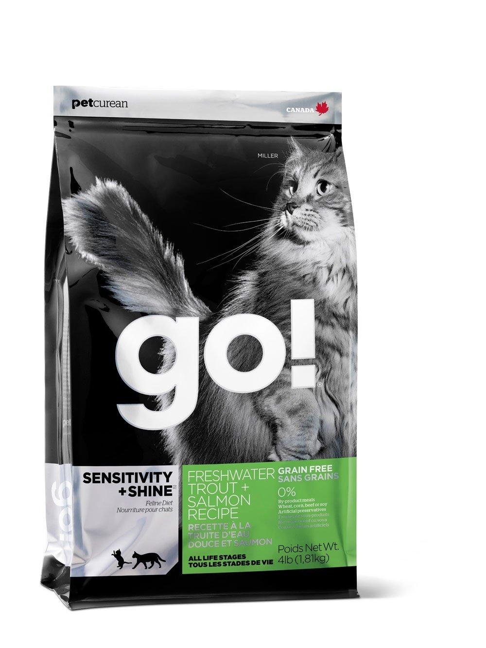Сухой корм для кошек и котят Go! Natural форель,лосось, 7,26 кг