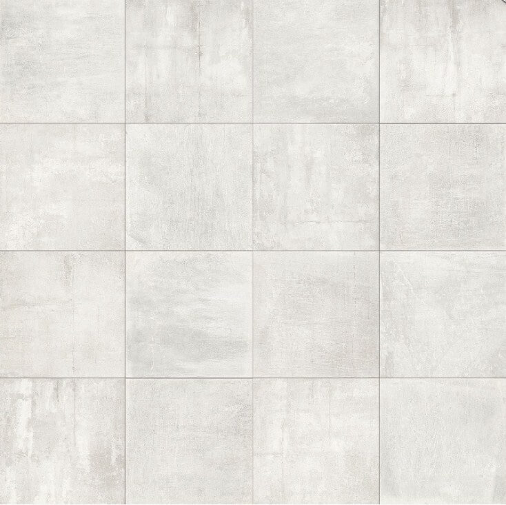 Мозаика Brennero Fluid Мозаика Mosaico Concrete White Lapp (2,3х2,3) 30х30