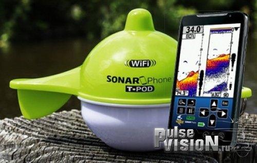 Рыбопоисковый эхолот Vexilar SonarPhone SP100 с WiFi