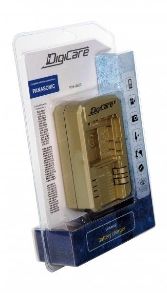 Универсальное зарядное устройство DIGICARE PCH-U8103 для PANASONIC + USB
