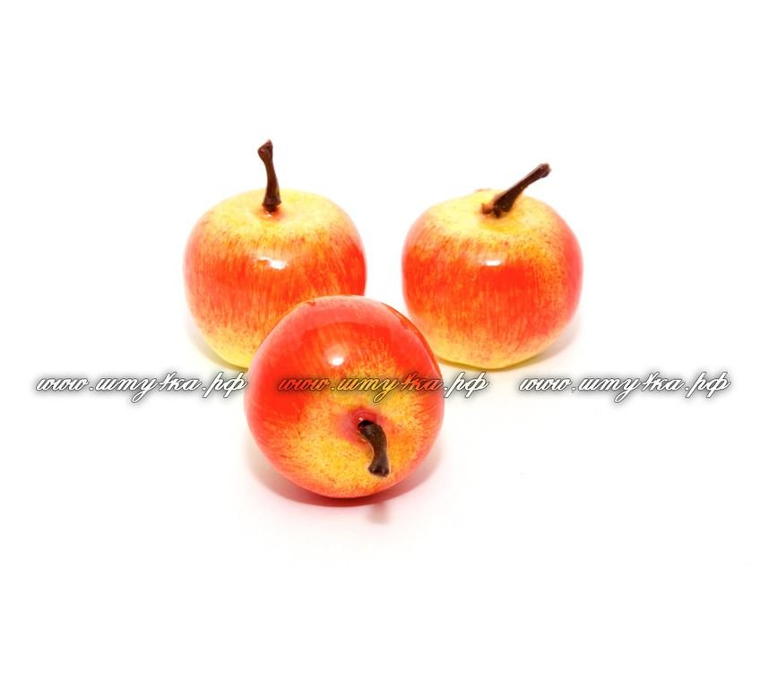 Яблочки, d-35 мм, цена за 1 шт