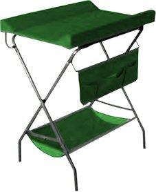 Пеленальный столик ФЕЯ 4249, зеленый