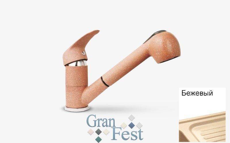 Смеситель GranFest 1774 Бежевый