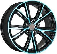 LegeArtis Concept LR504 9,5x20 5x120 ET 53 Dia 72,6 (Черный с синей лицевой поверхностью)
