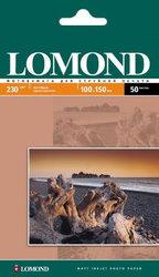 Фотобумага, Lomond, А6, 50 листов, 230г, матовая, односторонняя