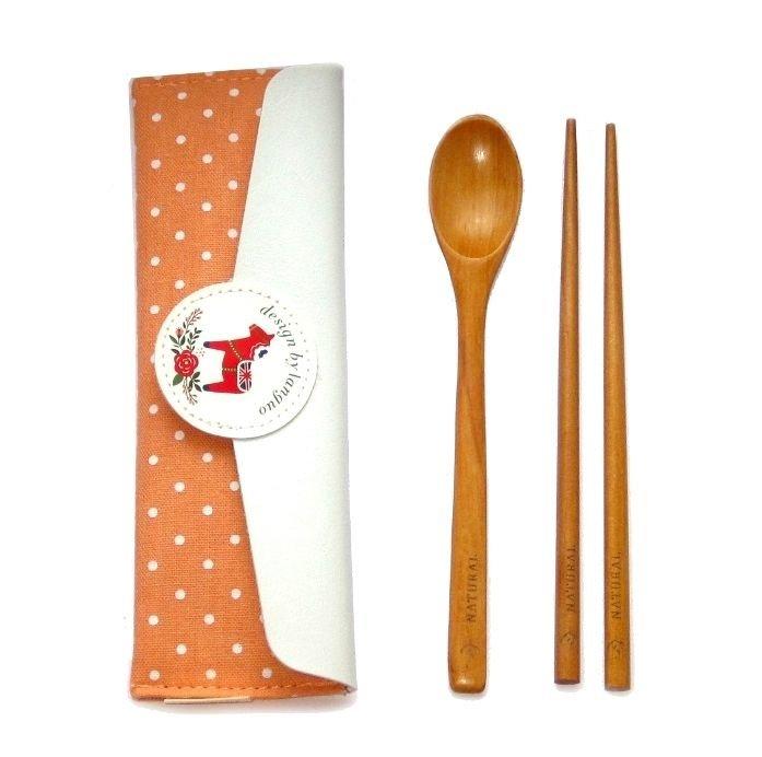 Набор приборов для суши «Pony» - Orange