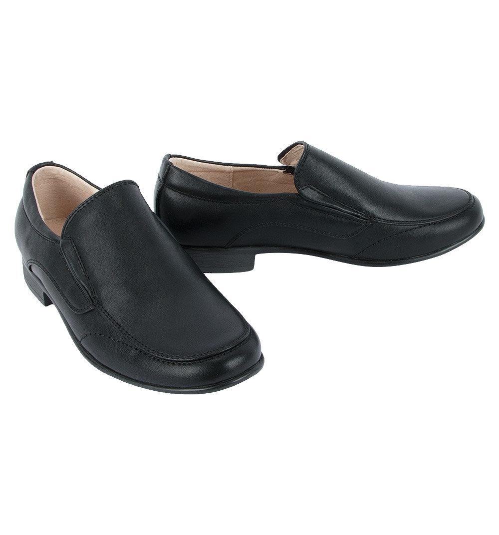 Полуботинки FLAMINGO цвет: черный, для мальчиков, размер 36