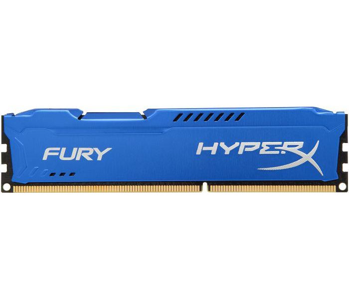 Модуль памяти Kingston HyperX Fury Blue Series PC3-15000 DIMM DDR3 1866MHz CL10 - 8Gb HX318C10F/8