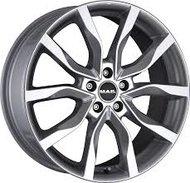 литой колесные диски Mak Koln 9.5x21 ET56 PCD5*112 (Тёмное серебро полностью полированный) DIA 66.6 - фото 1