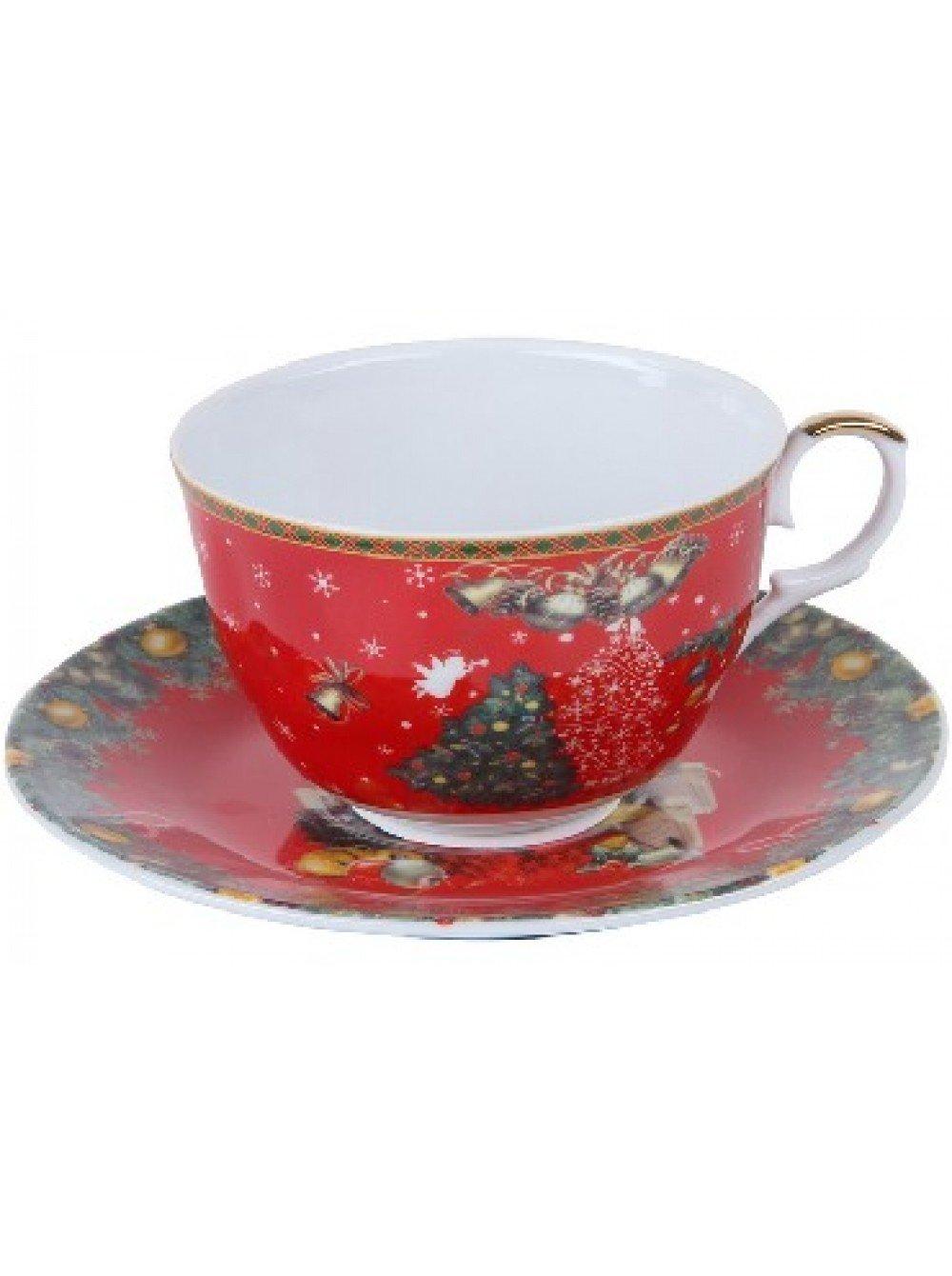Посуда ROSENBERG RCE-255004-NY Чайная пара (12)