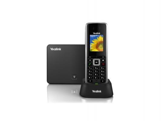 "VoIP-оборудование Телефон IP/Dect Yealink W52P 5 SIP-аккаунтов 1.8"" LCD"