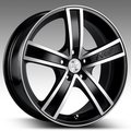 Колесные диски Racing Wheels H-412 6,0\R14 4*114,3 ET38 d67,1 BK F/P [85878765835] - фото 1